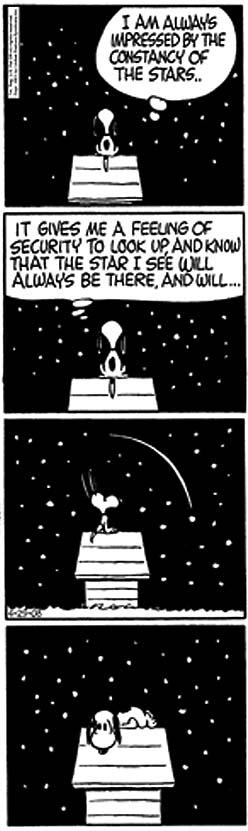 Ora, direis, ouvir estrelas